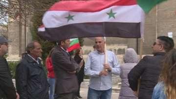 Във Варна излязоха на протест срещу бомбардировките над Сирия