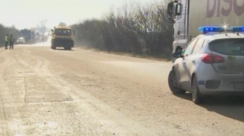 Снимка: Трима души пострадаха в катастрофа на пътя Варна - Русе