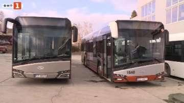 Два еко автобуса тръгват по линии на градския транспорт във Варна