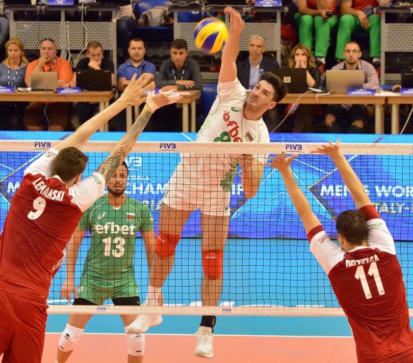 снимка 2 България победи Полша в Световната лига с 3:2 гейма