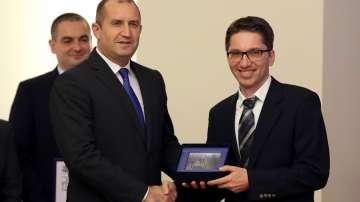 Васил Денчев е носителят на голямата награда Джон Атанасов