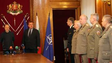 Актьорът Васил Михайлов беше отличен за принос към Министерството на отбраната
