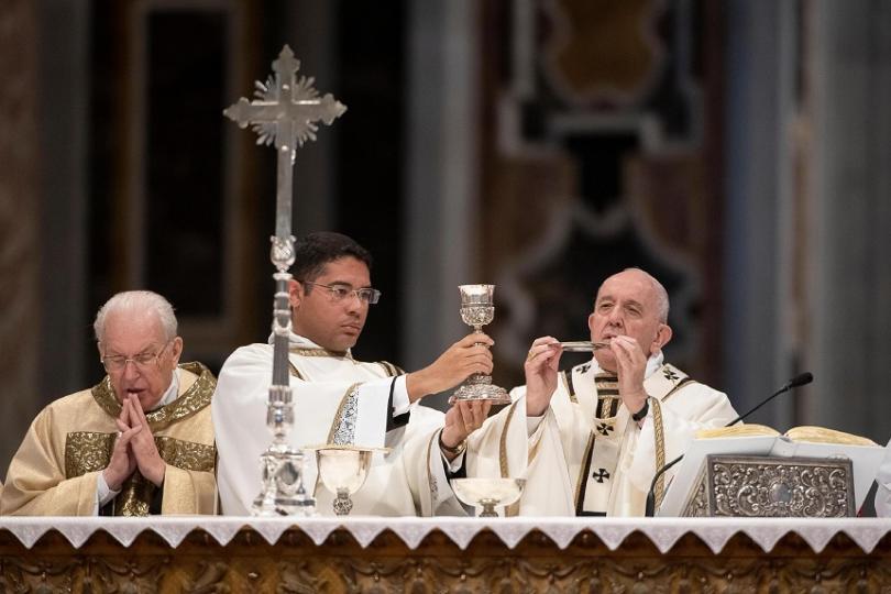 В Рим папа Франциск започна церемониите, с които католическата църква
