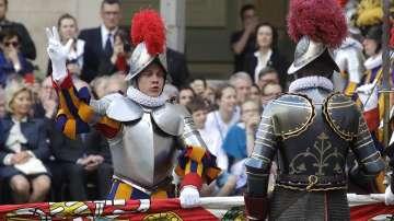 Новите попълнения в швейцарската гвардия на Ватикана положиха клетва