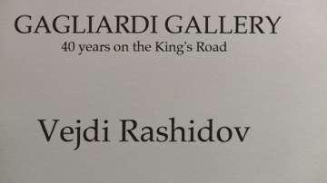 """Премиера на 44 творби на Вежди Рашидов в лондонската галерия """"Галиарди"""""""