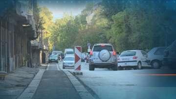 Велоалея в Благоевград минава пред гаражи