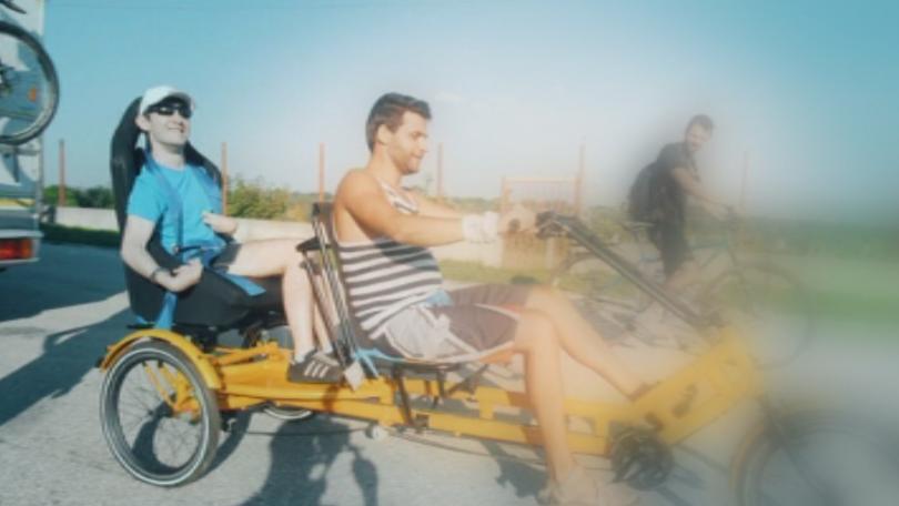 Ето една история за момче, което въпреки диагнозата церебрална парализа