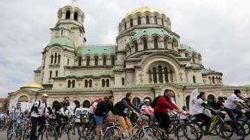 Стотици се включиха във велопоход в столицата