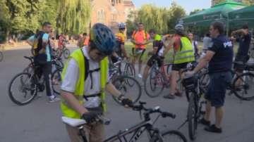 Велошествие и първо велокино в София