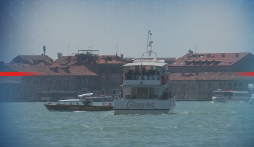 Демонстрация срещу круизните кораби във Венеция