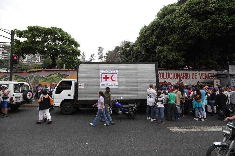 Венецуела получи първа пратка хуманитарна помощ