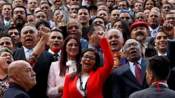 Първо заседание на спорния ръководен орган във Венецуела