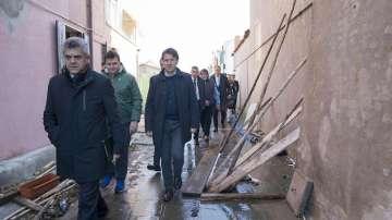 Премиерът Конте посети Венеция и обеща финансова помощ