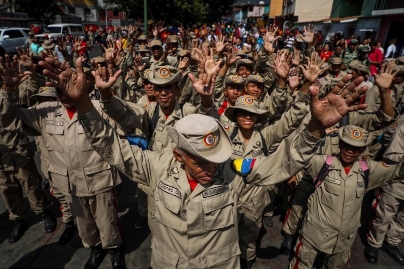 Снимка: Хавана отрича да има кубински военни във Венецуела