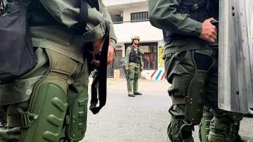 Сблъсъци между граждани и армия избухнаха на Венецуелско-Колумбийската граница