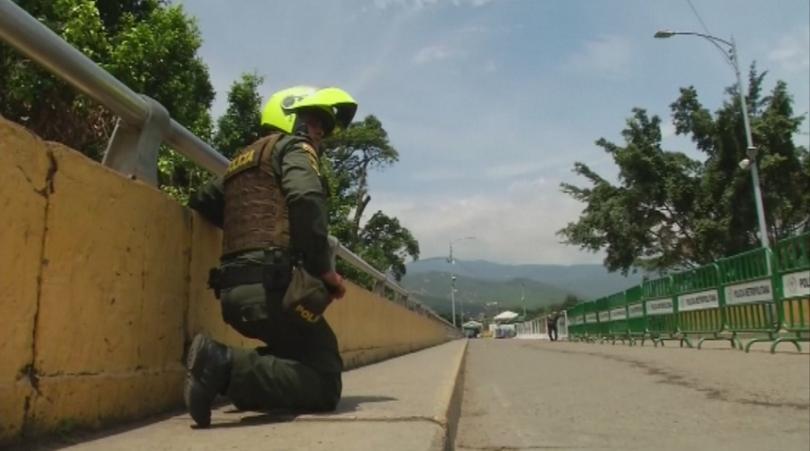 Стрелба на границата между Венецуела и Колумбия тази вечер
