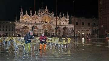Почти една трета от историческия център на Венеция е под вода
