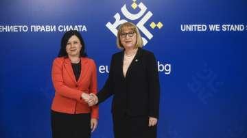 Еврокомисар Вера Юрова присъства на Неформалния съвет по правосъдие в София