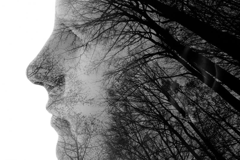 портретът живота без зрение
