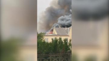 Пожарът във Версай беше изгасен, няма жертви и пострадали