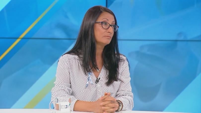 Снимка: Веселина Ганчева: КНСБ не е защитила едно наше право за 10 години