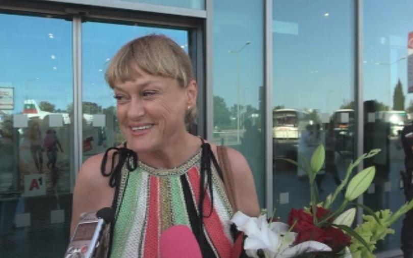 Световно известната оперна певица Веселина Кацарова пристигна в Бургас, за