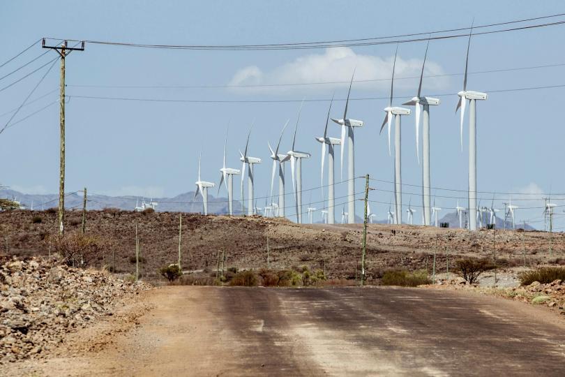 В Северна Кения заработиха 365 вятърни турбини, които формират най-големия
