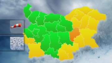 Материални щети причини силният вятър в Сливен