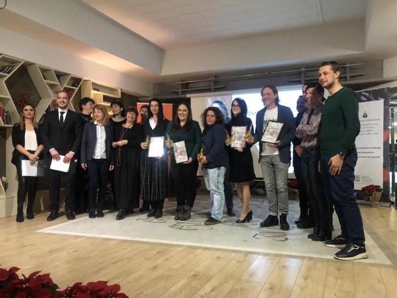 снимка 3 Репортерката на БНТ Татяна Йорданова получи награда Валя Крушкина