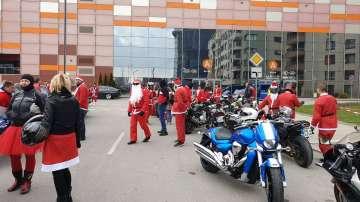 Пловдивски мотористи с благотворително шествие за Коледа (СНИМКИ)