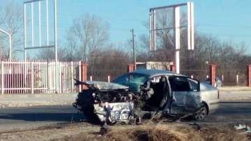 Заспал зад волана шофьор предизвика катастрофа в Пловдив (Снимки)