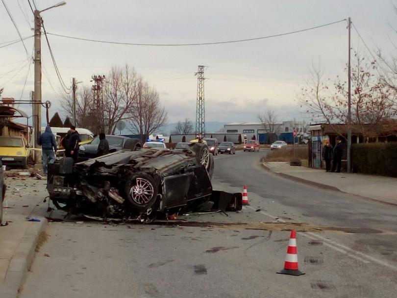 снимка 1 Два пътни инцидента от Пловдив тази сутрин (Снимки)