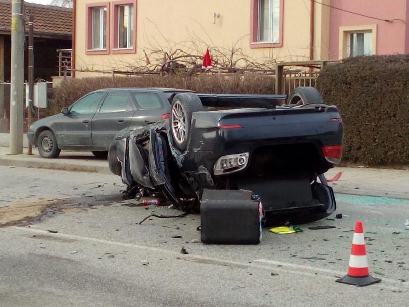 снимка 3 Два пътни инцидента от Пловдив тази сутрин (Снимки)