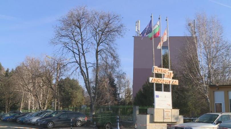 Площадката на цеха за боеприпаси във военния завод