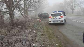 Жена загина при тежка катастрофа на пътя Русе-Силистра
