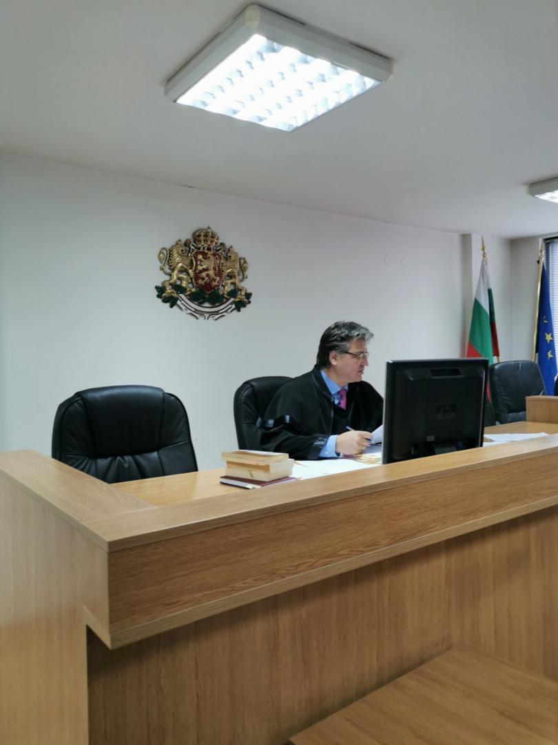 снимка 1 Съдът гледа делото за оспорените пълномощия на кмета на Благоевград