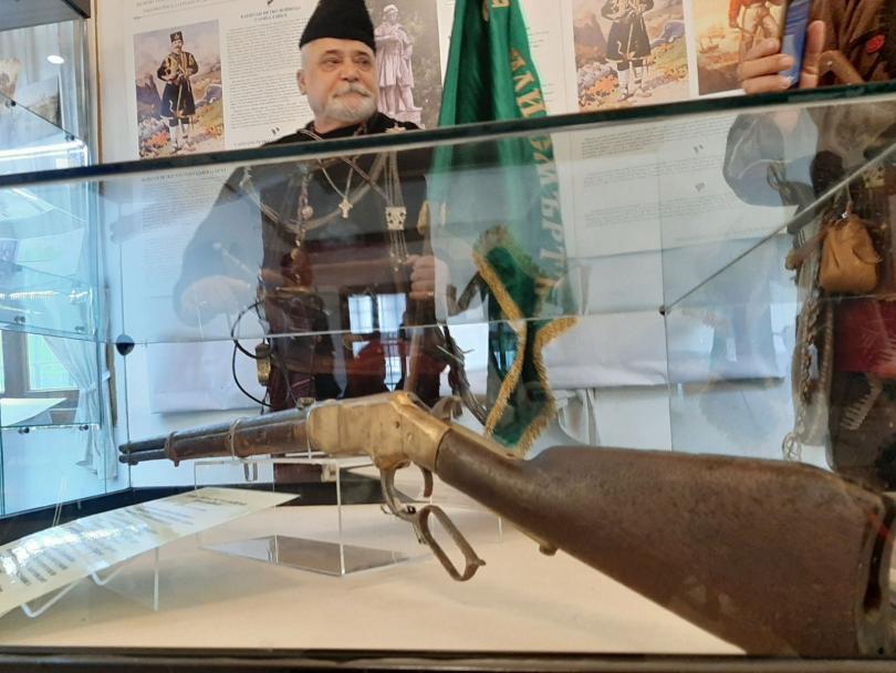 За първи път показват пушката на Капитан Петко Войвода във