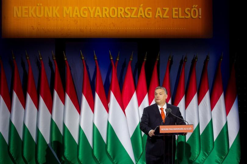 Унгарският премиер Виктор Орбан призова за глобален съюз срещу миграцията.