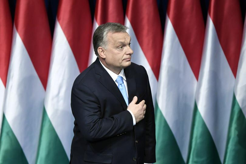 орбан оттегли подкрепата кандидата председател манфред вебер