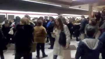 Хаос в софийското метро