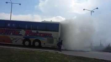 """Автобус се запали на АМ """"Хемус"""""""
