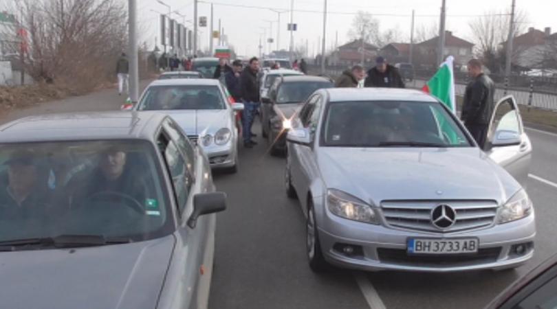 за втори път видин излизат протест региона пътища