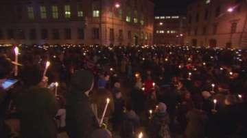 Над 3000 души излязоха на шествие във Виена срещу крайната десница