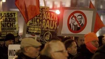 Във Виена протестираха срещу крайнодесните