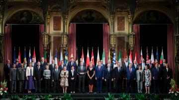 Втори ден на срещата на външните министри на ЕС във Виена