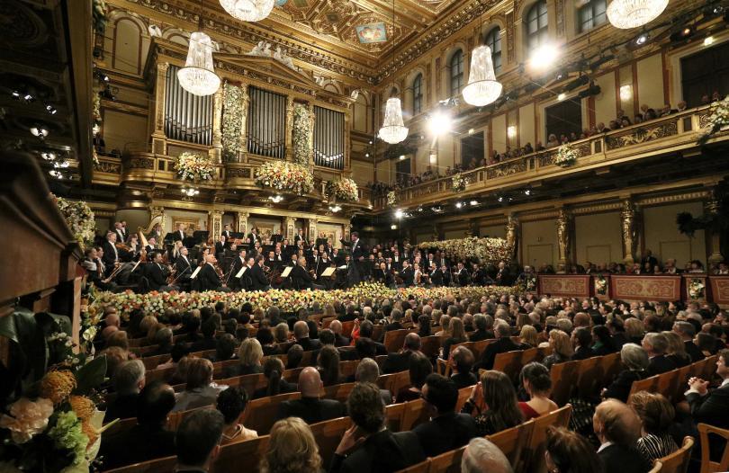 Снимка: Историята на Виенския Новогодишен концерт