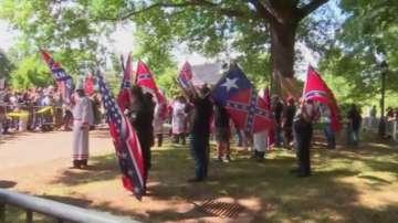 Сблъсъци по време на шествие на Ку Клукс Клан във Вирджиния