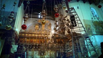 Поклонници от цял свят се стичат във Витлеем, за да посрещнат Рождество Христово