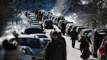 За час бяха затворени пътищата към Витоша