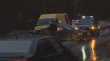 Жена загина, трима са ранени при катастрофа край Владая